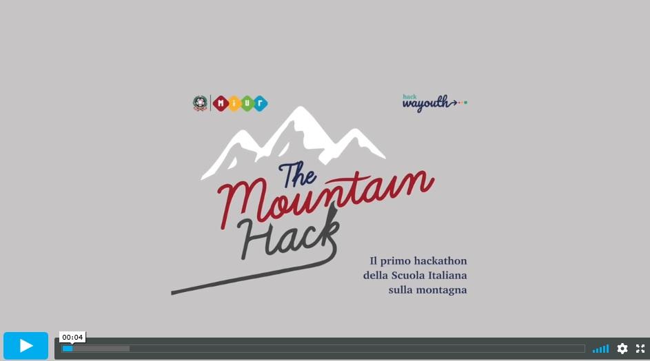 (Ita) The MOUNTAIN-HACK: il primo hackathon della scuola italiana interamente dedicato allo sviluppo dei territori montani